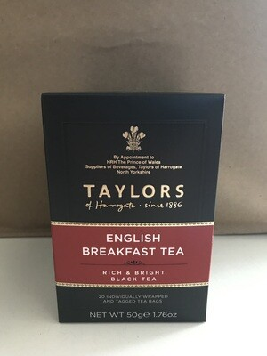 Grocery / Tea / Taylors English Breakfast, 20 ct