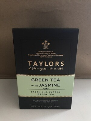 Grocery / Tea / Taylor's Jasmine Green Tea, 20 ct