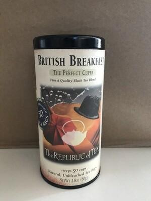 Beverage / Tea / British Breakfast Black (50 Tea Bags)