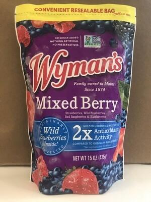 Frozen / Fruit / Wyman's Mixed Berries