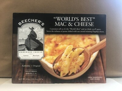 Frozen / Entree / Beechers Macaroni and Cheese.