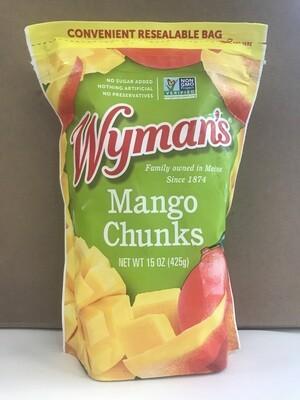 Frozen / Fruit / Wyman's Mango Chunks, 15 oz