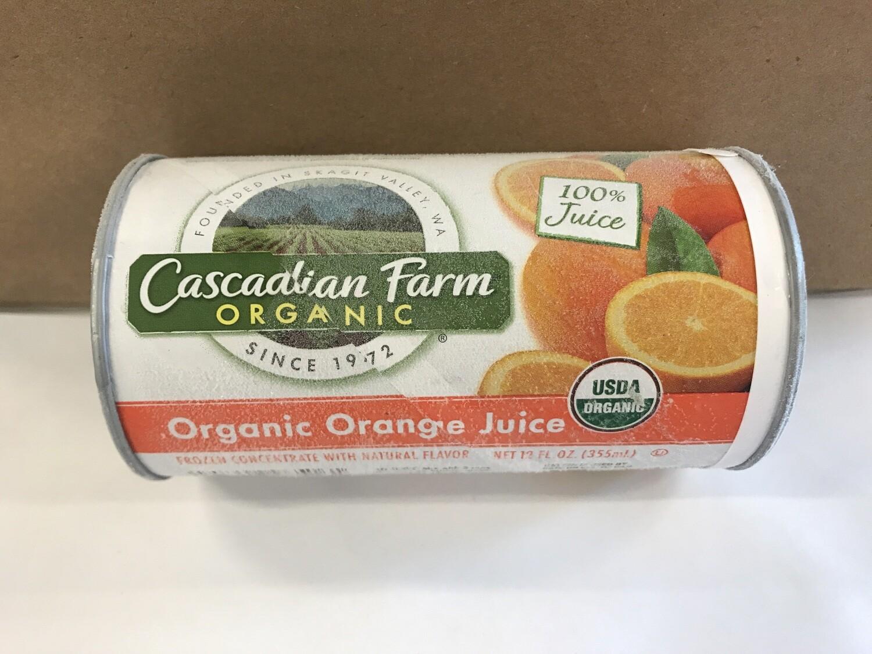 Frozen / Juice / Cascadian Farms Organic OJ Concentrate