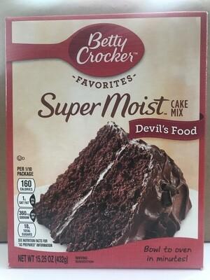 Grocery / Baking / Betty Crocker Devil's Food