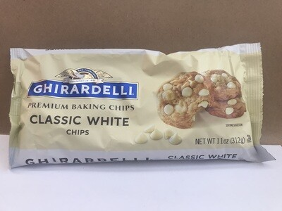 Grocery / Baking / Ghiradelli White Chocolate Chips 11oz