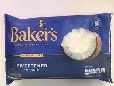 Grocery / Baking / Baker's Angel Flake Coconut 14oz
