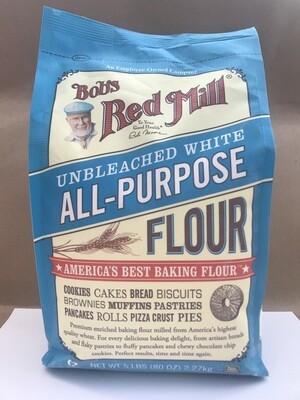 Grocery / Baking / Bob's Red Mill Unbleached White Flour 5 lb - LIMIT 1 per customer