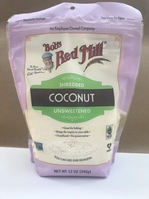 Grocery / Baking / Bob's Red Milll Shredded Coconut Unsweetened