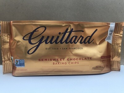 Grocery / Baking / Guittard Semisweet Chips 12 oz