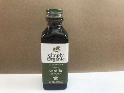 Grocery / Baking / Simply Organic Vanilla Extract, 2 oz