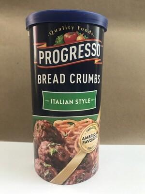 Grocery / Baking / Progresso Bread Crumbs Italian