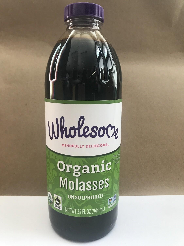 Grocery / Baking / Wholesome Black Strap Molasses, 32 oz.