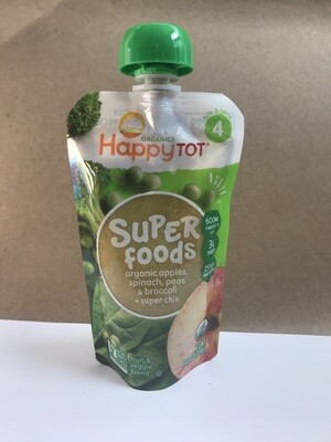 Grocery / Baby Food / Happy Tot - Apple Spinach Peas Broccoli