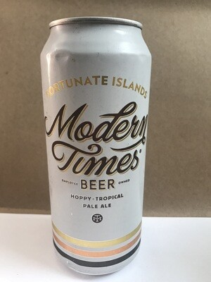 Beer / 16 oz  / Modern Times Fortunate Islands