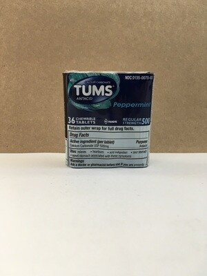 Health and Beauty / Antacid / Tums 3-pack