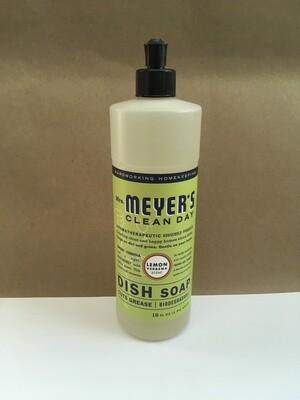 Household / Cleaners / Mrs. Meyers Dish Soap Lemon