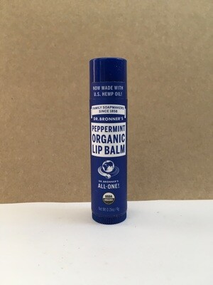 Health and Beauty / Beauty / Dr. Bronner Lip Balm Peppermint