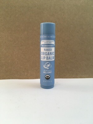 Health and Beauty / Beauty / Dr. Bronner Lip Balm Naked