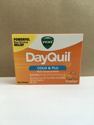 Health and Beauty / Cold / DayQuil 16 pk