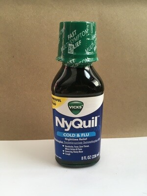 Health and Beauty / Cold / Nyquil 8 oz