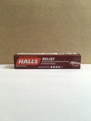 Health and Beauty / Cold / Halls Cherry Drops