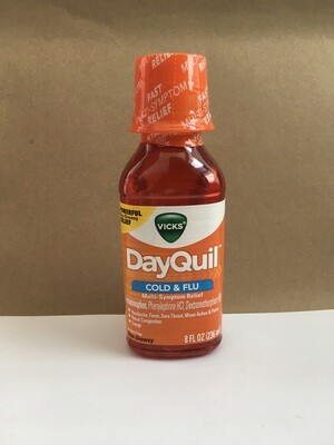 Health and Beauty / Cold / Dayquil 8 oz