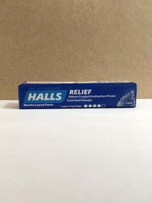 Health and Beauty / Cold / Halls Mentholyptus Drops