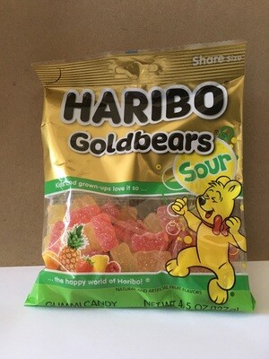 Candy / Candy / Haribo Sour Gold Bears, 5 oz.