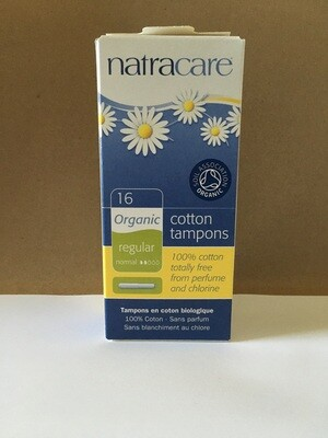 Health and Beauty / Feminine Products / Natracare Organic Tampons