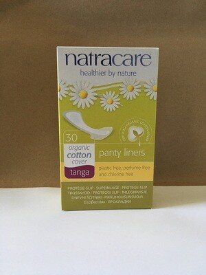 Health and Beauty / Feminine Products / Natracare Natural Panty Liners Tanga for thongs, 30 ct