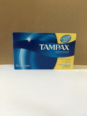 Health and Beauty / Feminine Products / Tampax Regular