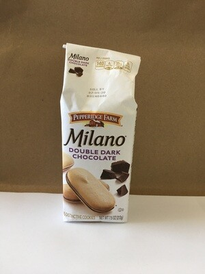 Cookies / Big Bag / Pepperidge Farm Double Chocolate Milano