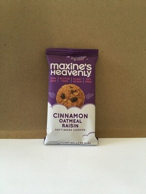 Cookies / Single Serve / Maxines Heavenly Cinnamon Oatmeal Raisin