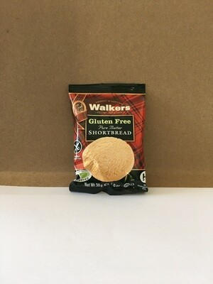 Cookies / Single Serve / Walkers Gluten Free Shortbread Round 1.2oz