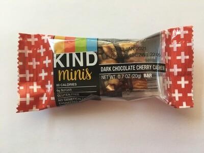 Snack / Bar / Kind Minis Dark Chocolate Cherry Cashew Single