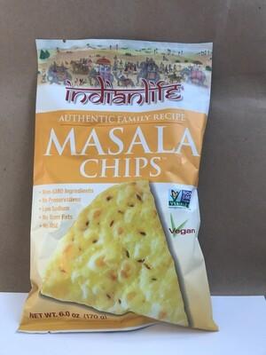 Chips / Big Bag / Indian Life Masala Chips, 6 oz.