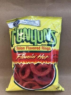 Chips / Small Bag / Funyuns Flamin Hot, 2.3 oz.