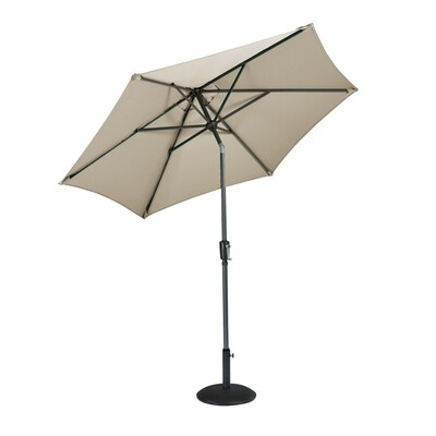 Riviera Sun Shade Taupe (Bronze) -  2.5m Parasol