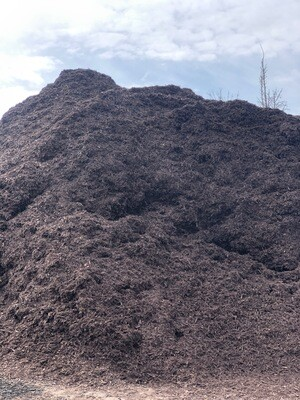 Brown Walnut Mulch (per yard)
