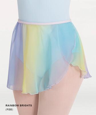 BW 138 Rainbow Wrap Skirt