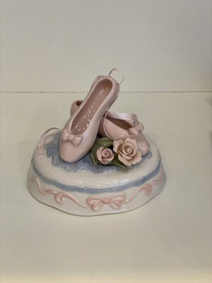 Ballet Shoe Music Box
