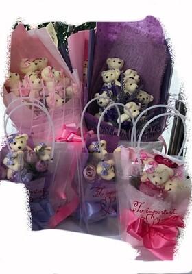 Small Bear Bouquet