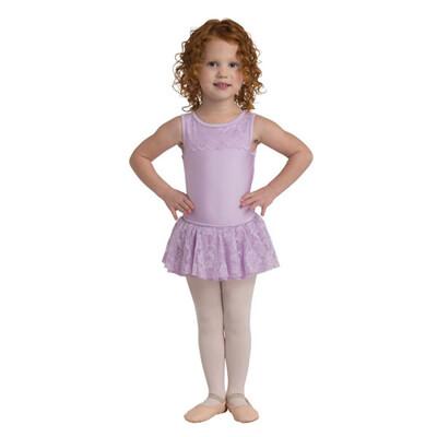 Dan 2711 Lace Heart Cutout Dress