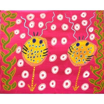 Annette Lormada BLANKET FISH STING RAY