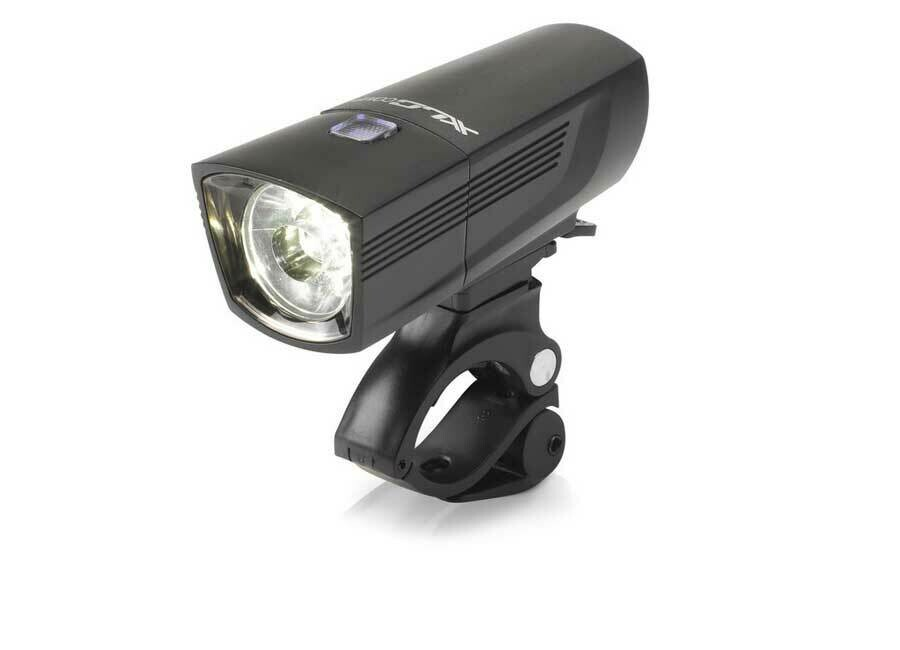 Koplamp XLC Comp Fransisco CL-F18 USB Led Zwart