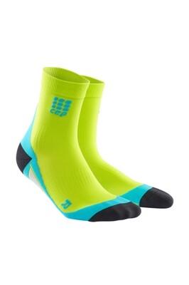 CEP Short socks Lime/hawaii blue WP5B80