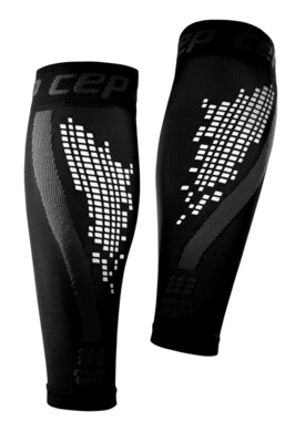 CEP Nighttech Calf sleeves Black WS4LB0