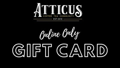 Gift Card -Online Only-