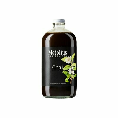 Metolius Chai Retail Bottles