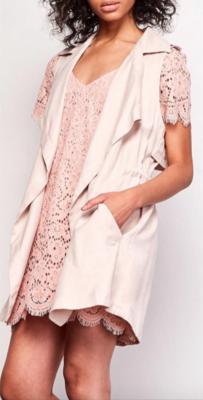 'Halley' Blush Vest